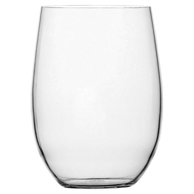NON SLIP BEVERAGE GLASS, CLEAR