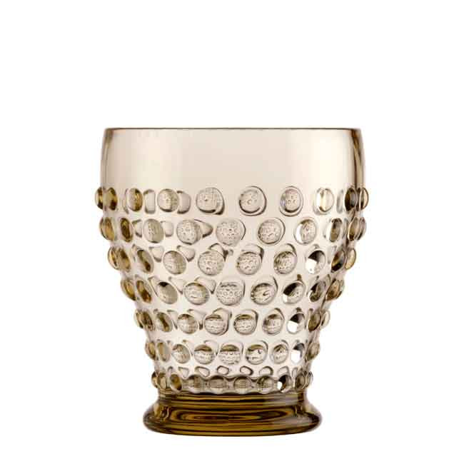 LUX WATER GLASS-GOLD 6UN
