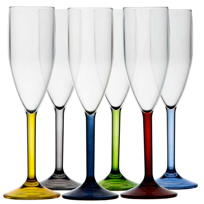 PARTY CHAMPAGNE GLASS - Colors