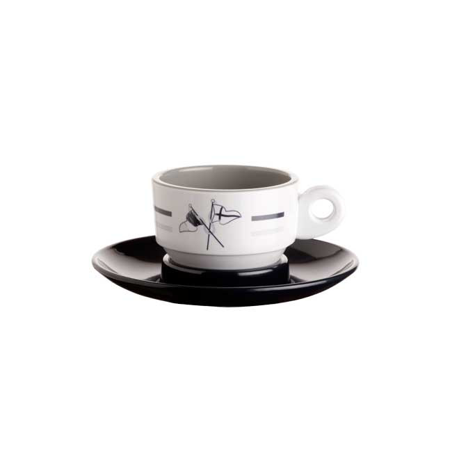 WELCOME ON BOARD ESPRESSO CUP&SAUCER