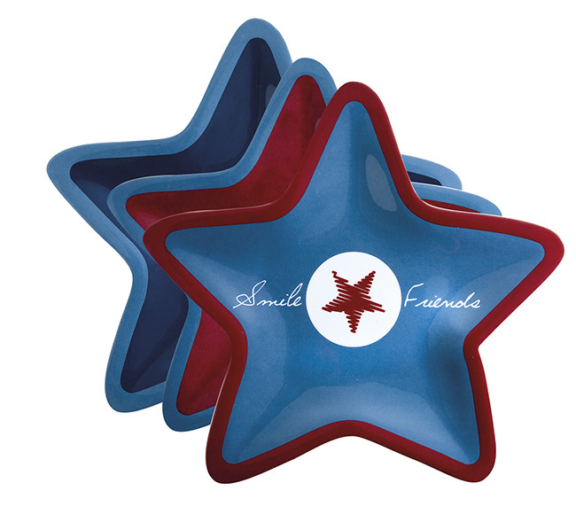 ENJOY LIFE STAR PLATE 6 UN